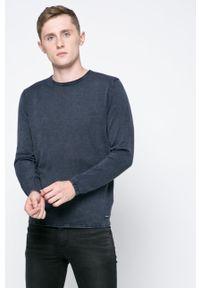 Only & Sons - Sweter. Okazja: na co dzień. Kolor: niebieski. Materiał: dzianina. Wzór: gładki. Styl: casual