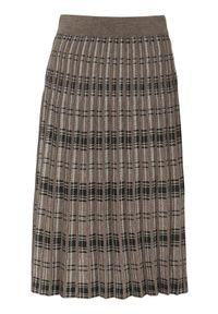 Beżowa spódnica Freequent elegancka