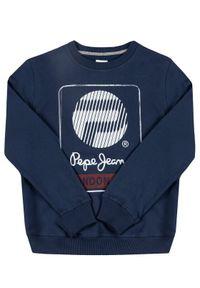 Niebieska bluza Pepe Jeans