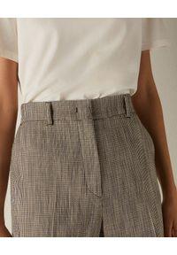 Marella - MARELLA - Szare spodnie Ostuni. Okazja: do pracy, na spotkanie biznesowe. Kolor: szary. Materiał: wiskoza, materiał. Styl: elegancki, biznesowy