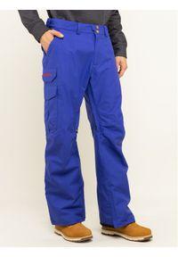 Niebieskie spodnie sportowe Burton snowboardowe
