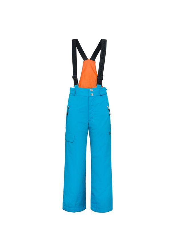 Niebieskie spodnie narciarskie Descente