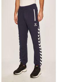 Niebieskie spodnie dresowe Hummel