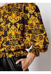 Czarna bluzka Versace Jeans Couture