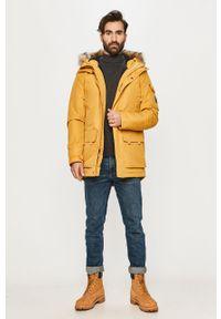 Żółta kurtka Quiksilver z kapturem, na co dzień