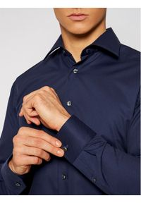 Niebieska koszula casual Eton