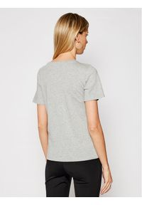 Trussardi Jeans - Trussardi T-Shirt 56T00328 Szary Regular Fit. Kolor: szary