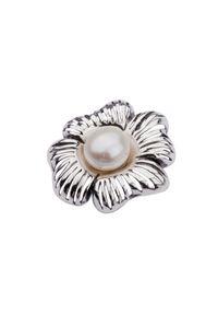 Polcarat Design - Srebro wisiorek W 1565 Perła. Materiał: srebrne. Wzór: aplikacja. Kamień szlachetny: perła