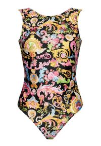 Versace Jeans Couture Body D4HWA60A Kolorowy Slim Fit. Wzór: kolorowy