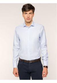 Tommy Hilfiger Tailored Koszula TT0TT05568 Biały Slim Fit. Kolor: biały