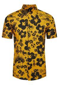 Vans Koszula VN0A5464 Żółty Classic Fit. Kolor: żółty