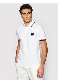 Biała koszulka polo Roy Robson polo
