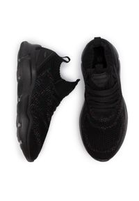 Czarne buty do fitnessu Sprandi z cholewką