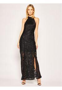 Czarna sukienka wieczorowa Guess #6