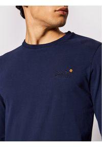 Superdry Longsleeve Vintage M6010119A Granatowy Regular Fit. Kolor: niebieski. Długość rękawa: długi rękaw. Styl: vintage #3
