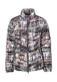 Cellbes Lekka kurtka we wzory kolorowy female ze wzorem 62/64. Materiał: puch, guma, polar. Wzór: kolorowy