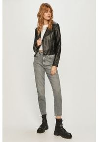 Szare jeansy loose fit only