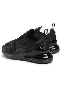 Czarne półbuty Nike klasyczne, z cholewką