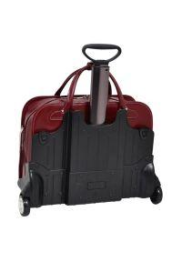 Czerwona torba na laptopa MCKLEIN elegancka #6