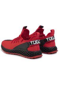 Czerwone sneakersy Togoshi #6