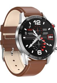 Smartwatch Promis SM40 Brązowy (SM40/1-L13). Rodzaj zegarka: smartwatch. Kolor: brązowy