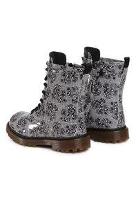 Szare buty zimowe Primigi z cholewką, na spacer