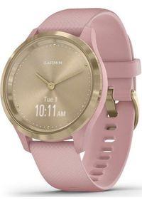 GARMIN - Zegarek sportowy Garmin Vivomove 3S Różowy (010-02238-21). Kolor: różowy. Styl: sportowy