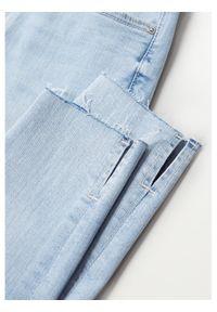mango - Mango Jeansy Isa 87025647 Niebieski Skinny Fit. Kolor: niebieski #4