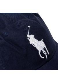 Niebieska czapka Polo Ralph Lauren sportowa