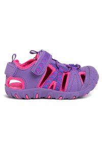 Fioletowe sandały Sprandi