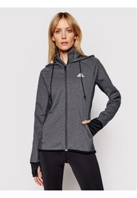 Adidas - adidas Bluza techniczna Designed To Move Aeroready GL3964 Szary Slim Fit. Kolor: szary