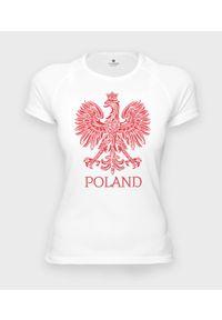 MegaKoszulki - Koszulka damska sportowa Poland 3. Materiał: poliester