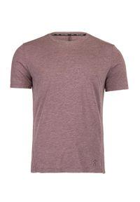 Koszulka biegowa On Running ACTIVE-T. Okazja: na co dzień. Kolor: różowy. Materiał: bawełna, materiał, elastan, syntetyk, włókno, skóra. Styl: sportowy, casual