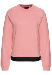 Różowa bluza Emporio Armani