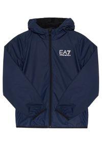 Niebieska kurtka przejściowa EA7 Emporio Armani