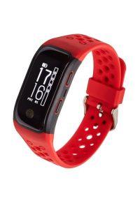 Czerwony zegarek GARETT elegancki