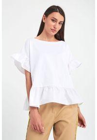 Bluzka TwinSet krótka, z krótkim rękawem
