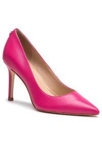Guess Szpilki Dafne4 FL5DAF LEA08 Różowy. Kolor: różowy. Obcas: na szpilce