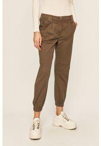 Szare spodnie materiałowe only
