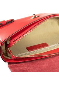 Czerwona torebka klasyczna QUAZI klasyczna