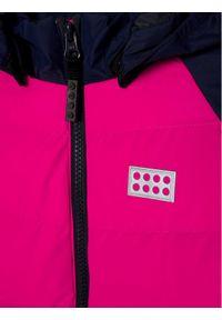 Różowa kurtka puchowa LEGO Wear
