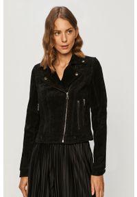 Czarna kurtka Vero Moda klasyczna, bez kaptura