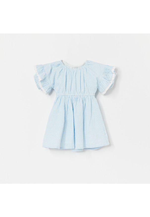 Sukienka Reserved w kratkę