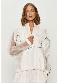 Biała kurtka Reebok Classic raglanowy rękaw, bez kaptura