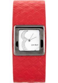 Czerwony zegarek Gino Rossi