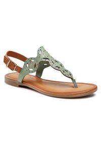 Zielone sandały s.Oliver