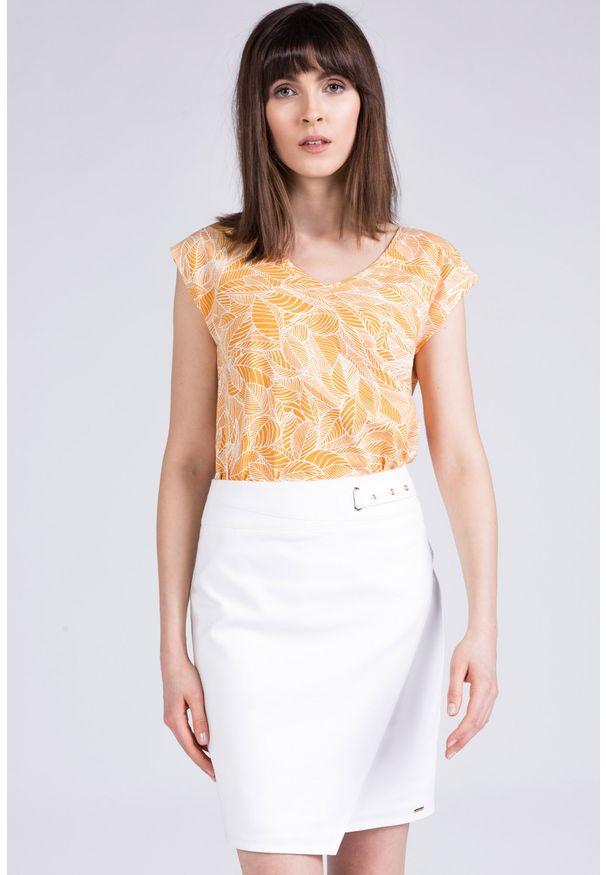 Biała spódnica Monnari elegancka, na co dzień