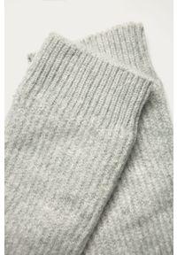 Szare rękawiczki Pieces