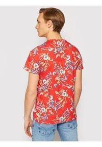 Superdry T-Shirt Vl Aop M1010999A Czerwony Regular Fit. Kolor: czerwony #4