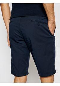 Roy Robson Szorty materiałowe 985-59 Granatowy Regular Fit. Kolor: niebieski. Materiał: materiał